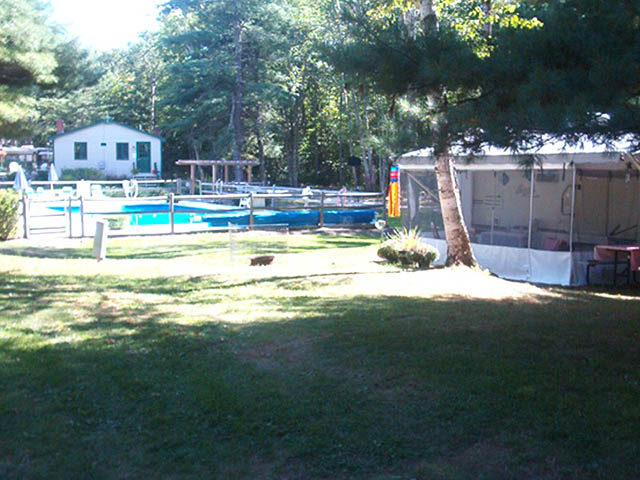Camden hills campgrounds camping in the beauty of mid Campsites in poole with swimming pool