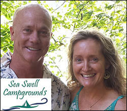 Scott Warren and Catherine Plourde welcome you to Camden Hills Campground in Maine