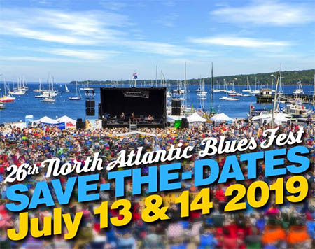26th North Atlantic Blues Fest near Camden Hills Campground - July 13 and 14 2019