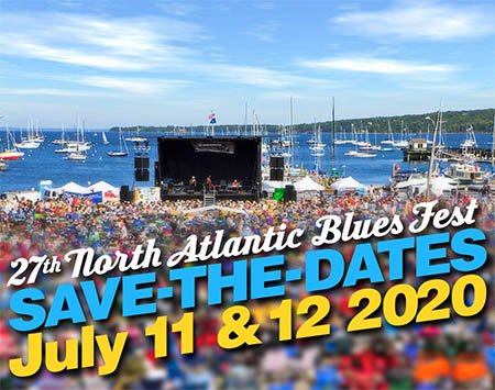 27th North Atlantic Blues Fest near Camden Hills Campground